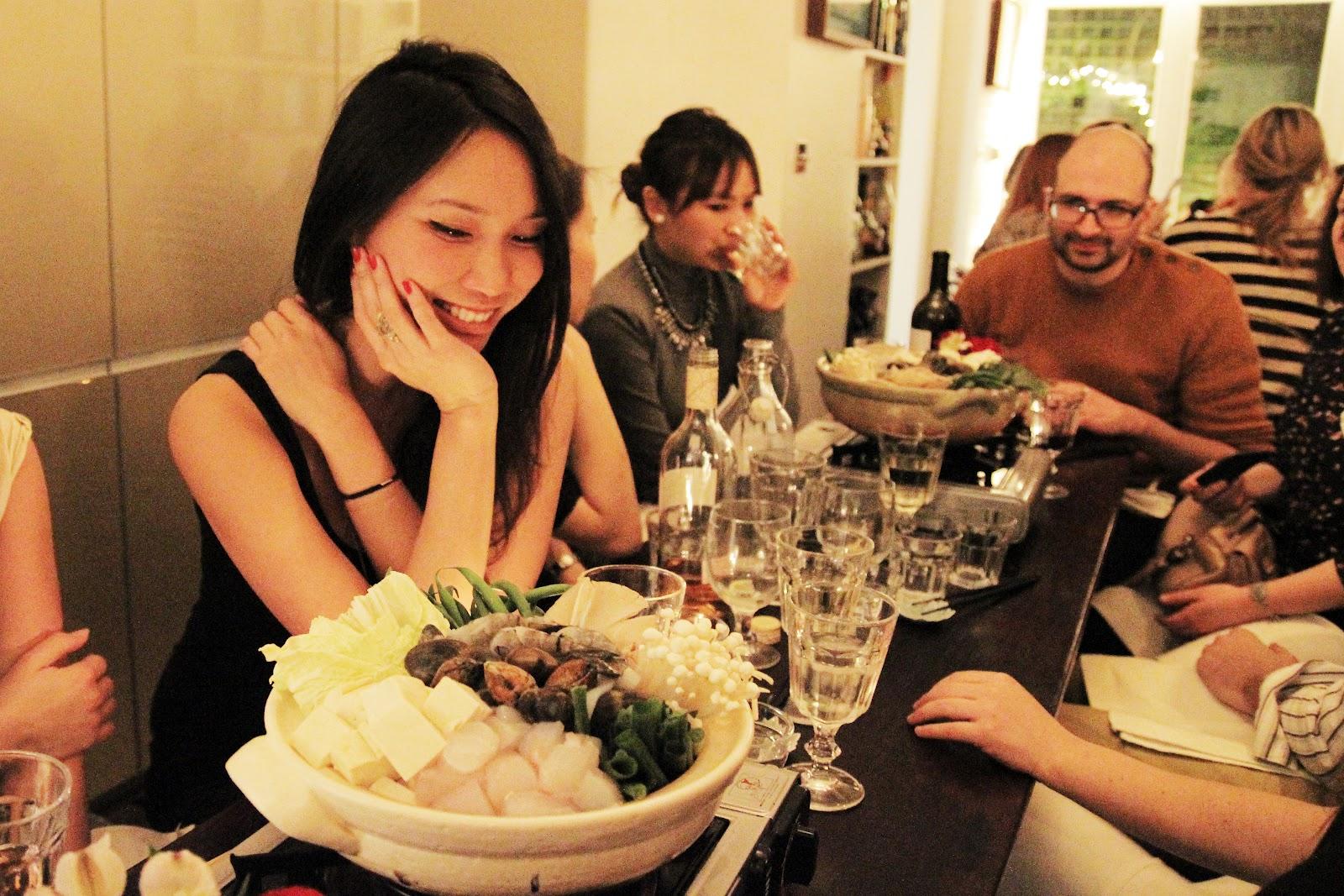 asian dinner club